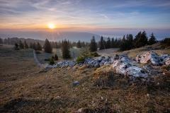 Les Rochers Bruns - Mont-Racine
