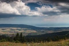 Panorama sur Le Val de Ruz